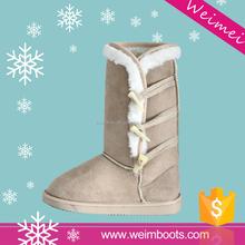 yeni tasarım sıcak satış kış kullanılan İtalyan kışlık botlar kadın