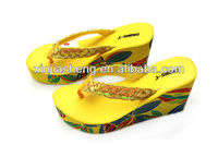 wedge sandals 2014 summer high heel shoes size 34