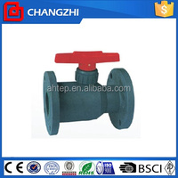 Water/oil/gas media and manual power ball valve