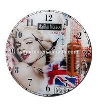 Moda grandes relojes de pared para la venta
