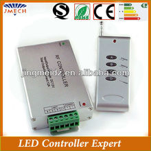 CE and RoHS DC12V mutil-fuction programmable rgb led rf controller