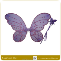 Beautiful wings,fairy wings,butterfly wings with magic wand fairy