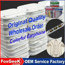 China Bulk in-Ear Earphone with Remote and Mic Wired Headphone 3.5mm for Apple iPhone 5 5S 6 6S Plus Mobile Phone Wholesale