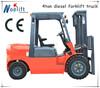 light duty industrial forklift 4t diesel forklift truck with isuzu engine for sale