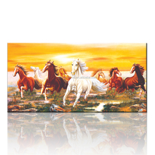 High Quality Horse Canvas Painting/Large Canvas Wall Art For Office Decor/Horse Picture for Wall Hanging