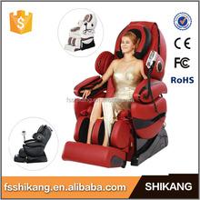 2015 venta caliente cuerpo completo masaje gravedad zero mejor masaje silla eléctrica