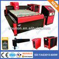 Alta- precisão 600w yag laser máquina de corte de tubo de aço carbono com a auto- desenvolvido gerador do laser