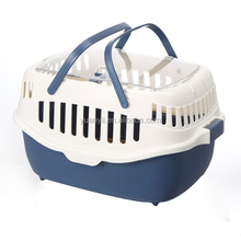 Plastic Pet Carrier For Cat Dog Puppy Rabbit Hamster Travel Box Basket Cage Outdoor