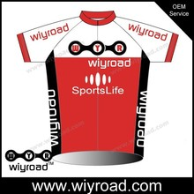 OEM service USA design t shirts biker/pro team cycling jersey 2015/reflective bike shirts with reflective stripe