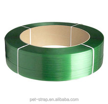 Embossed or smooth high tensile strength hand grade polyester strap