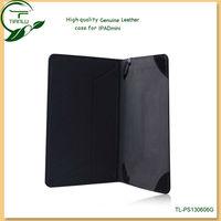 Pure Colour Leather Case for iPad mini Leather for iPad Case Leather Genuine for Tablet Magnetic Smart Cover case flip design