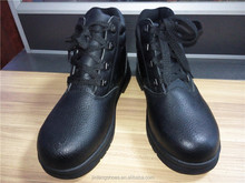 hot sale industrial middle cut cheap workman's steel toe and midsole PU/rubber outsole safety shoes/boots