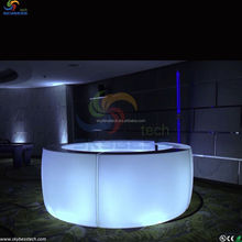 portable bar led cub tables/led bar counter