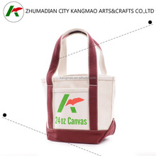Top quality canvas tote bag with printing