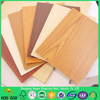 High Quality 1mm 20mm 2.5mm thick mdf board