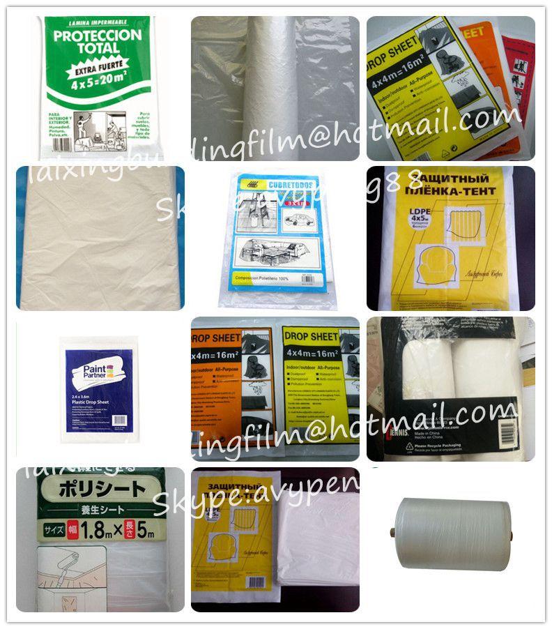 High Quality Waterproof Ldpe Plastic Drop Sheet Buy High