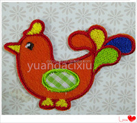2015 new design free eagle embroidery designs and embroidered cloth badge
