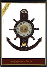 Antique Marine Quartz Wall Clock