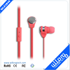 OEM customized metal earphone for mp3 players