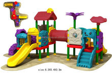 Top grade/useful/all plastic outdoor playground structure