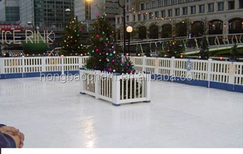 Ice Rink Made of Plastic Plastic Ice Rink
