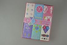 EXO Printed pocket tissue, Printed pocket tissue with box