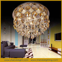 Home decoration lighting k9 Crystal Ceiling Lamp For Dining Room&Dining Room Chandelier Lighting