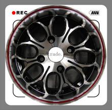 Aluminum alloy material alloy wheel 16X8.0 and 17X8.0 black wheel rims