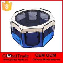 Pet Products Dog Supplies Octagonal pet fence cats Bed Kennel House USA outdoor Tent Cage Oxford Fabric Steel Wire 450110