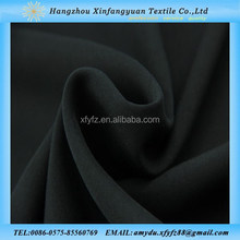 100% rayon plain dyed black rayon yarn fabrics for dresses