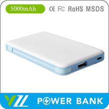 Universal External Portable Power Bank of 5000 mah