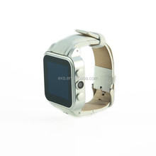 2015 ODM customized smart watch android support download app, whatsapp, skype, facebook