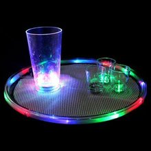 led serving tray,Multicolor LED Bar Tray for Waiting Tables