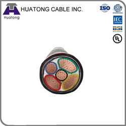 Wholesale china factory power cable 5x4mm2