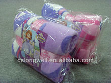 2013 American Hot Movie Sofia the First-Once Upon A Princess Coral Children knitted wholesale microfiber knitting patterns baby