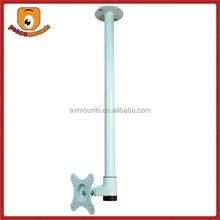 """Universal 360 degrees rotate of 1 Pole hanging height fixing fits 13""""-24"""" Ceiling Mount TV Brackets"""