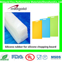 Silicone rubber for food grade silicone chopping board