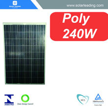 MCS approved 240w 27V solar panel cost with solar power cell for solar on grid system for home use
