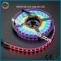 60leds/m ws2812 rgb strip led high quality lumen