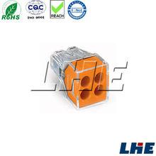 Equivalent wago 773-164 orange cover terminal block