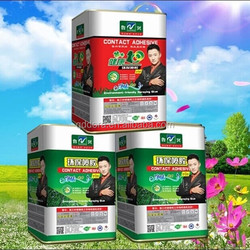 2015 hot sell green spray adhesive for environmental protection factory directly selling safety material