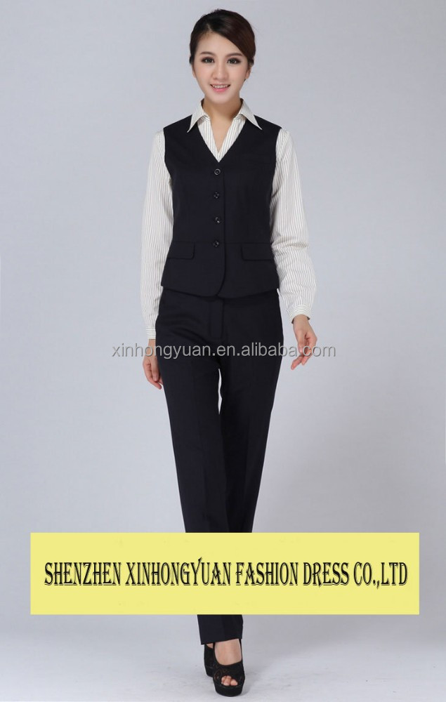Customize Ladies Office Uniforms Career Apparel Women