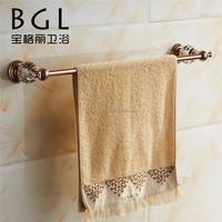 2015news brass crystal gold single towel rail barbathroom accessories towel bar