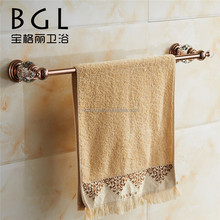 2015news brass crystal gold single towel rail barbathroom accessories towel bar