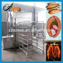 Meat drying baking smoking function chicken smoking machine for sale
