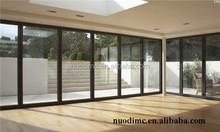 Heavy duty aluminium alloy sliding folding door and window made in China