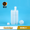 385ml 3:1Plastic PP Material Empty Silicone Glue Bottle