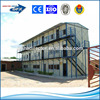 standard model steel structure three storey prefab house, workers camp