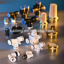 Pneumatic parts / Plastic fitting, brass muffler,quick connect,