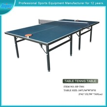 Model#HPDST001Hot-selling movable table tennis table for sale
